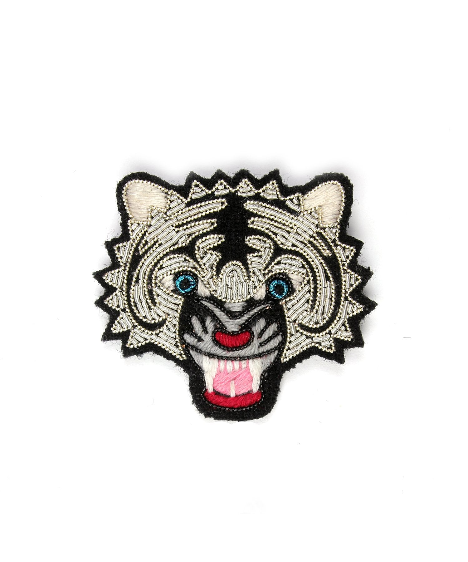 Macon & Lesquoy Tiger Head Pin