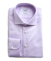 Maffeis No Wrinkle Dress Shirt in Lavender Solid