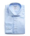 Emanuele Maffeis + Todd Snyder Light Blue Wrinkle Free Dress Shirt