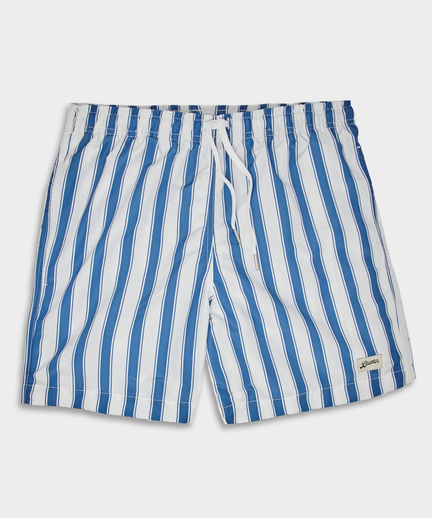 Bather Blue Stripe Swim Trunk