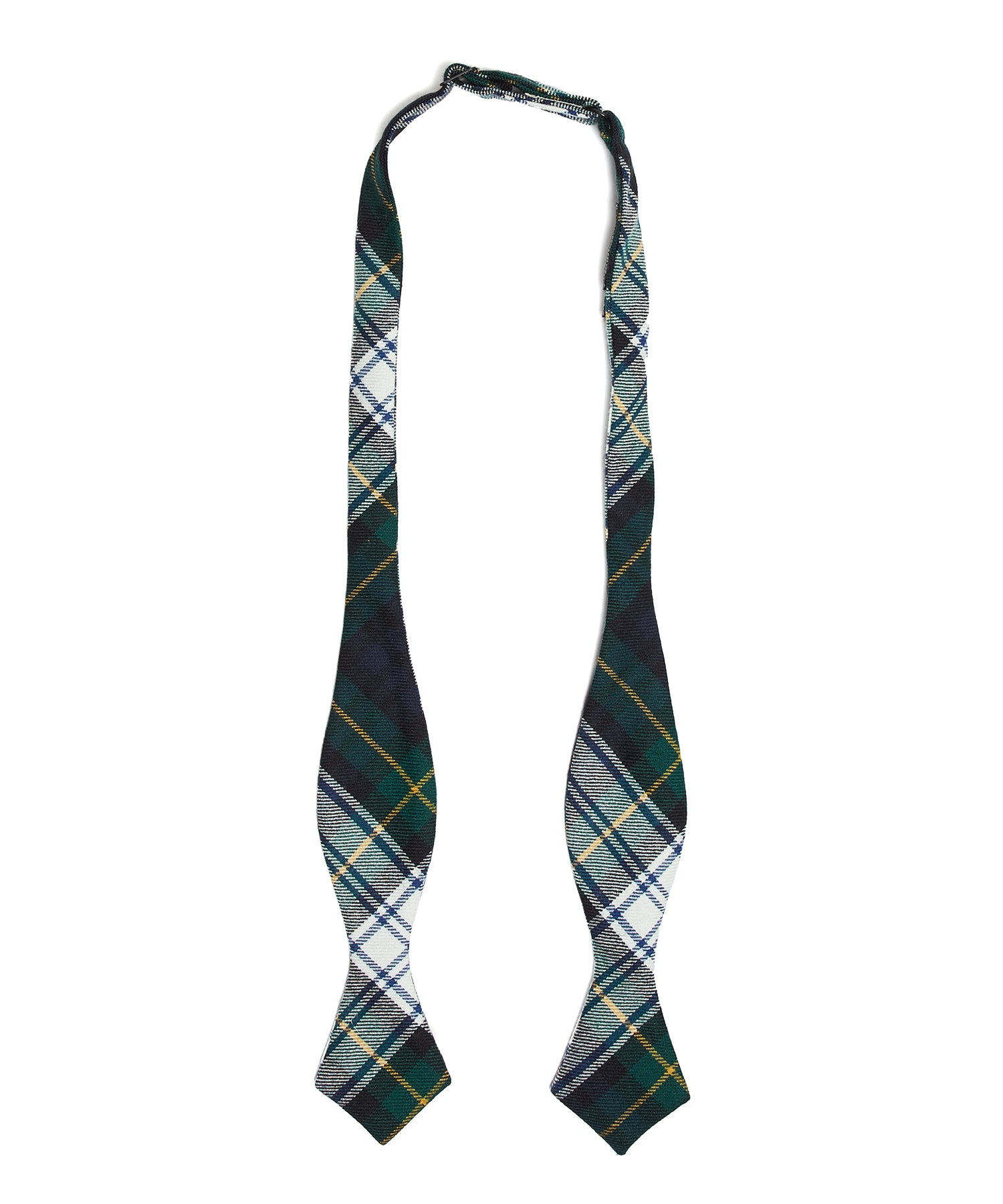 Abraham Moon TARTAN BOWTIE in GREEN