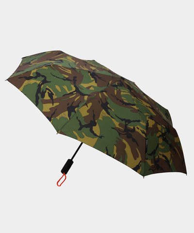 London Undercover Auto-Compact Umbrella in British Woodland Camoflauge