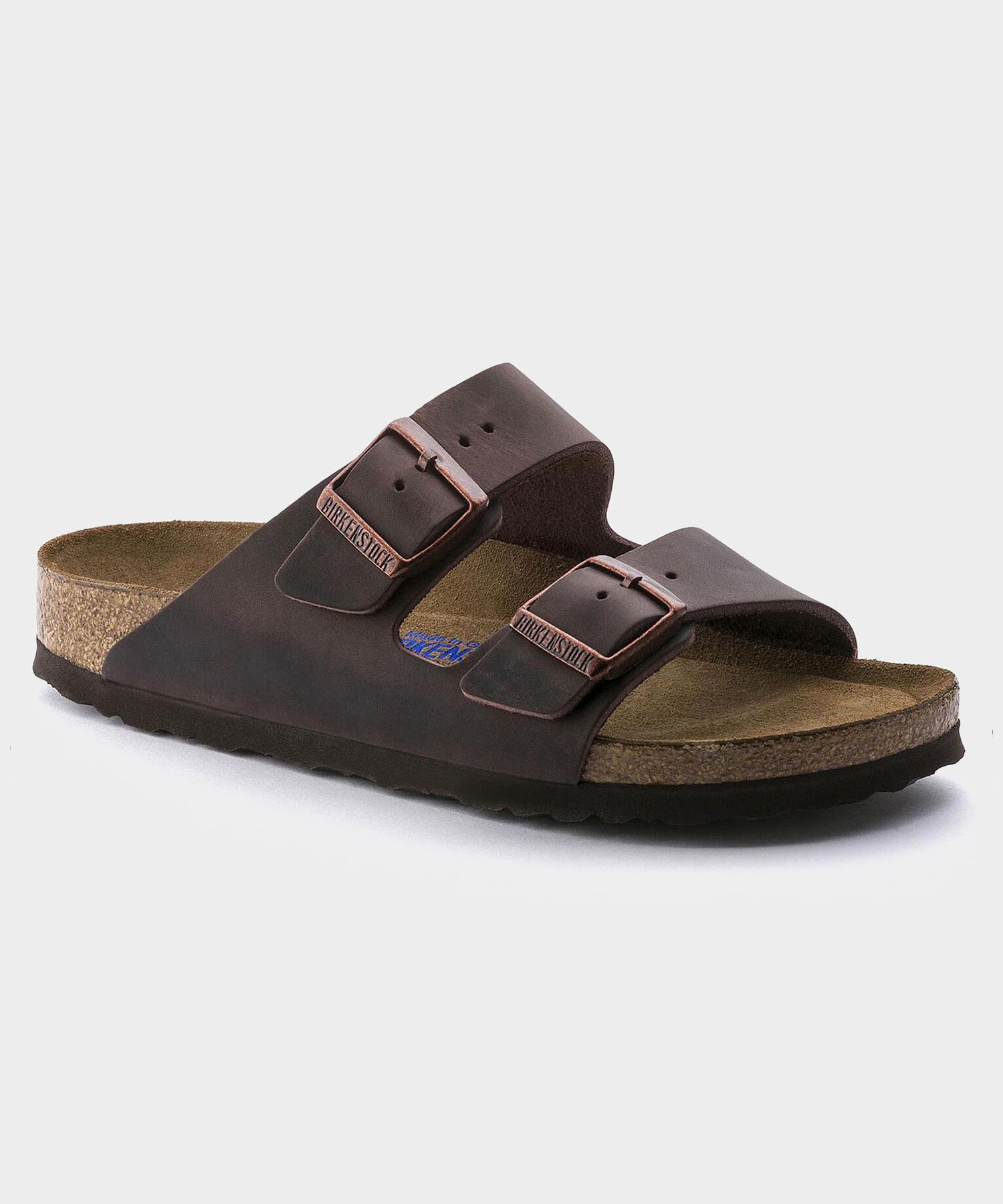 Birkenstock Arizona Soft Footbed in Oiled Habana Leather