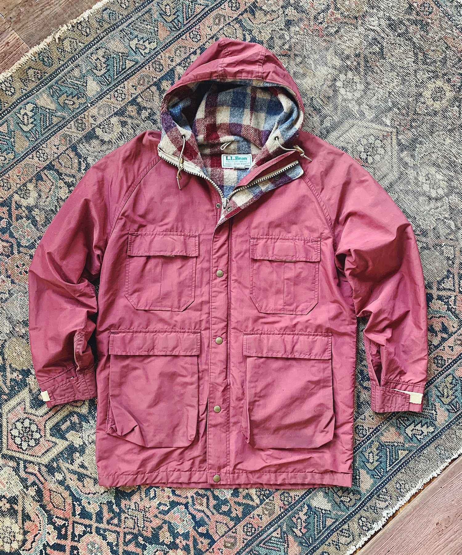 Item #8 -  Todd Snyder x Wooden Sleepers 1980's Baxter State Parka in Burgundy - SOLD OUT