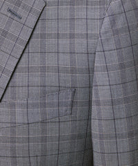 Navy and Grey Tropical Wool Plaid Sutton Suit Jacket Alternate Image