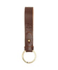 Il Bisonte Cowhide Keyring in Brown Alternate Image
