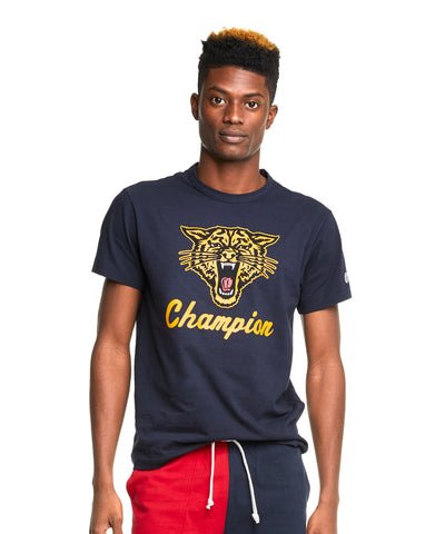 Tiger Roar Graphic Tee in Original Navy