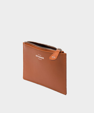 Ettinger Capra Mini Travel Pouch in Tan