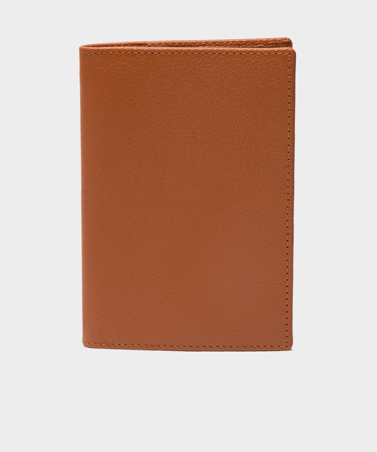 Ettinger Capra Passport Case in Tan