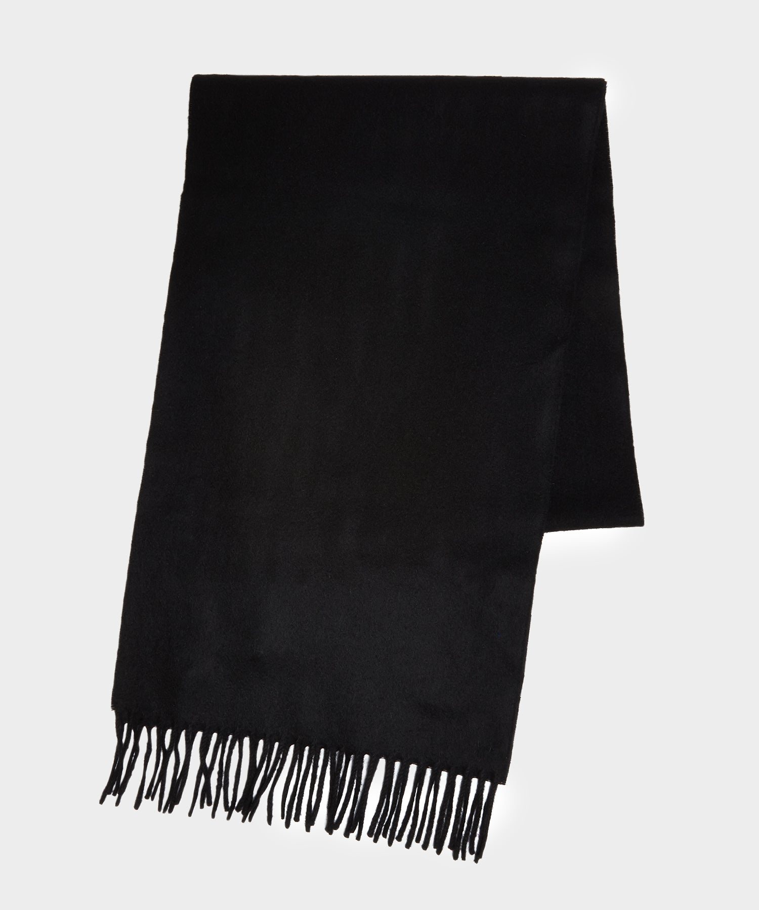 Joshua Ellis Cashmere Scarf in Black
