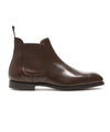 Crockett & Jones Chelsea Dark Brown Wax Calf Boot
