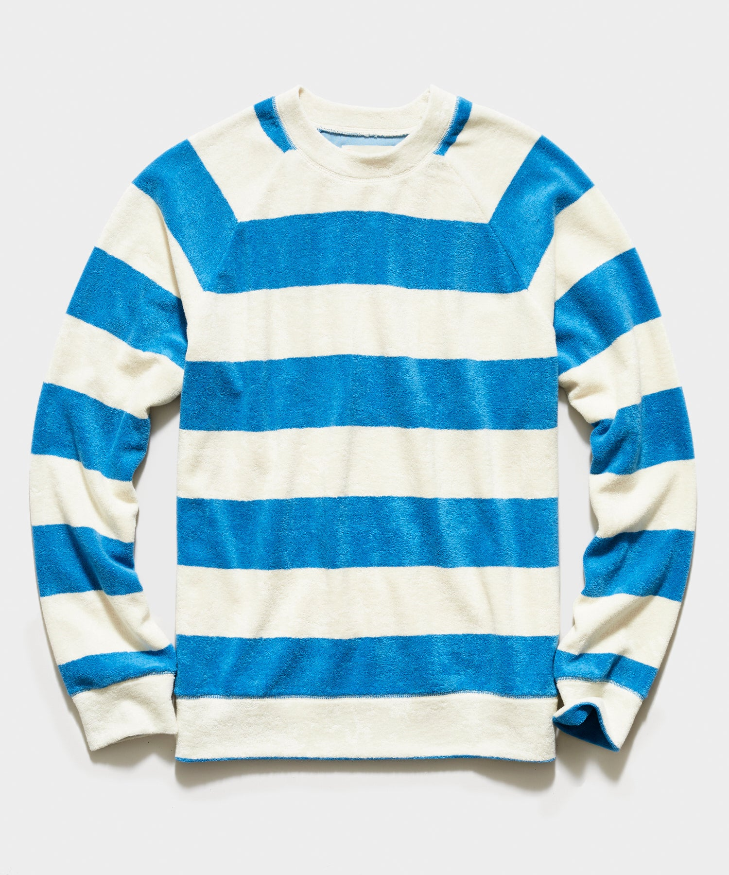 La Paz Cunha Towel Sweatshirt in Blue Stripe