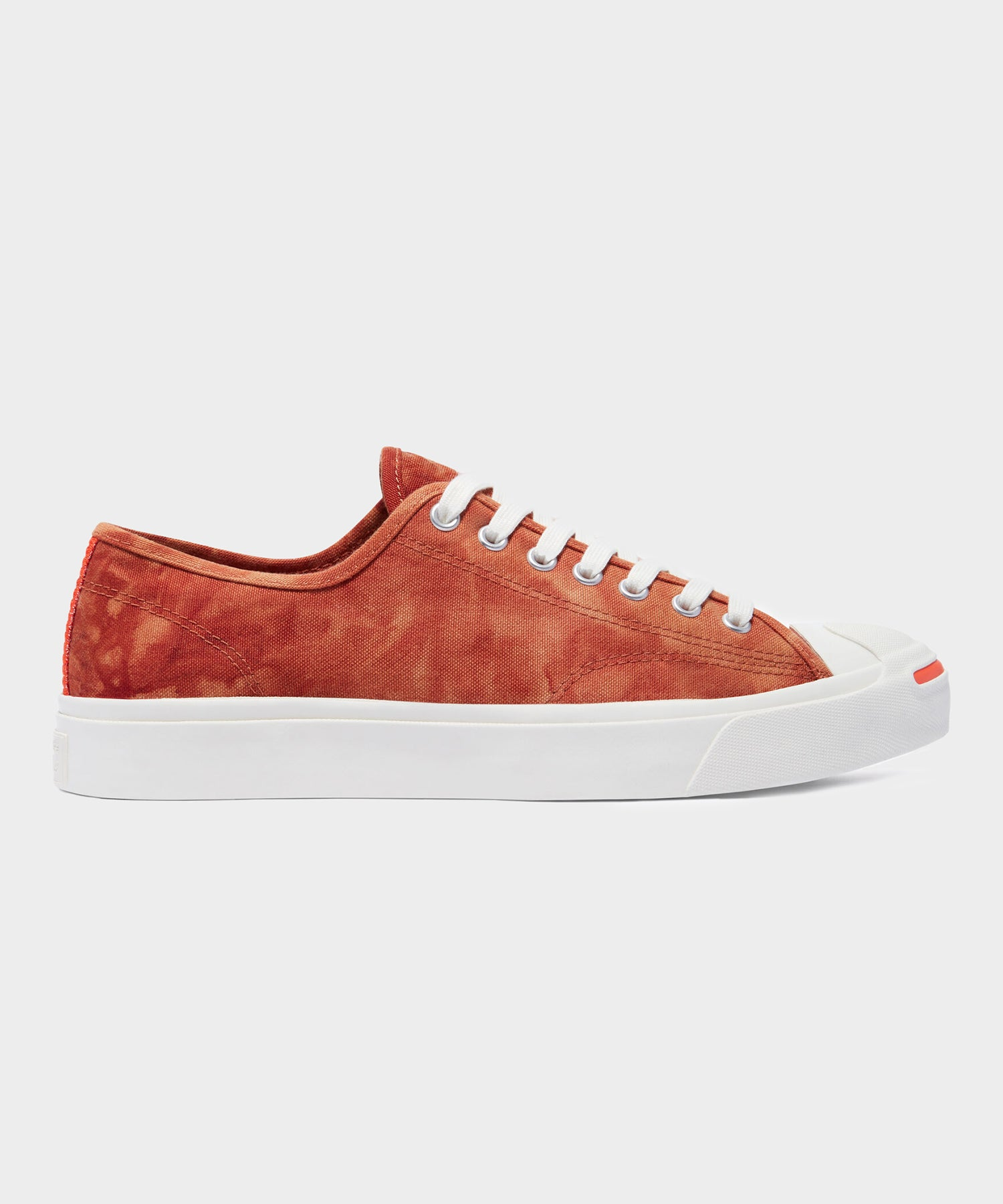 Converse Jack Purcell Summer Daze in Red Bark/Bright Poppy