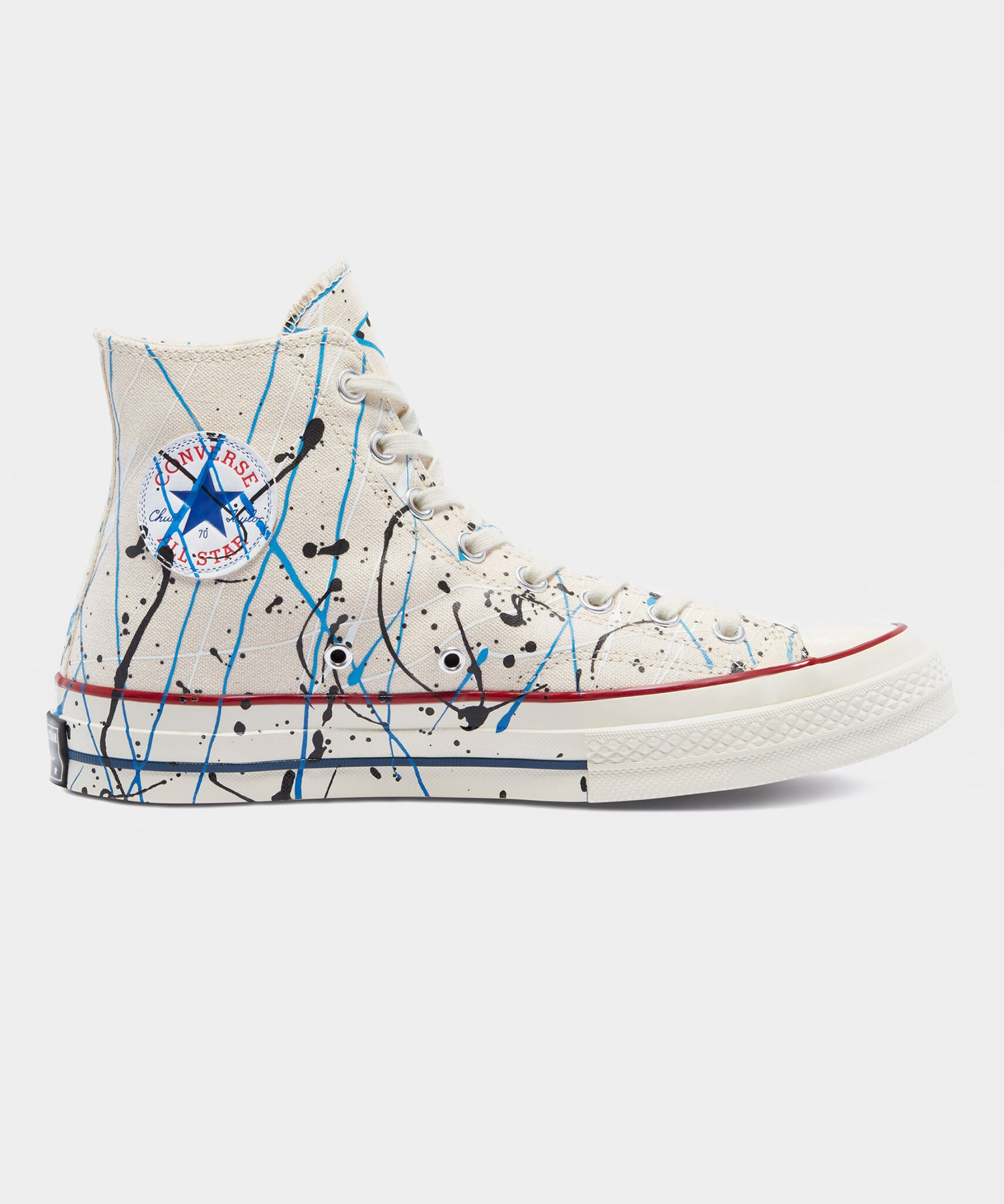 Converse Chuck 70 Archive Paint Splatter in White