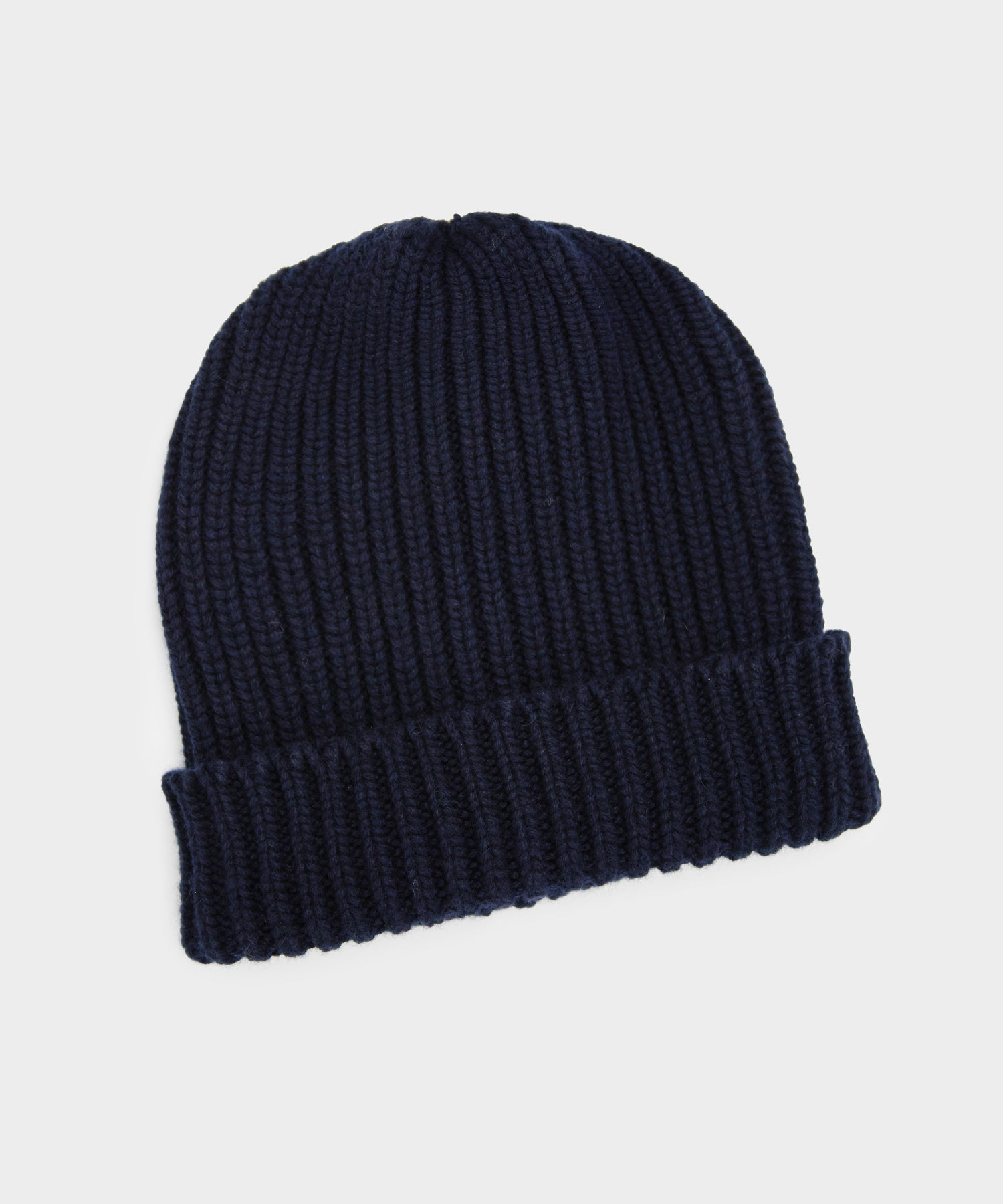 Corgi Cotton Cashmere Beanie in Navy