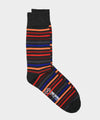 Corgi Charcoal Multi Stripe Socks
