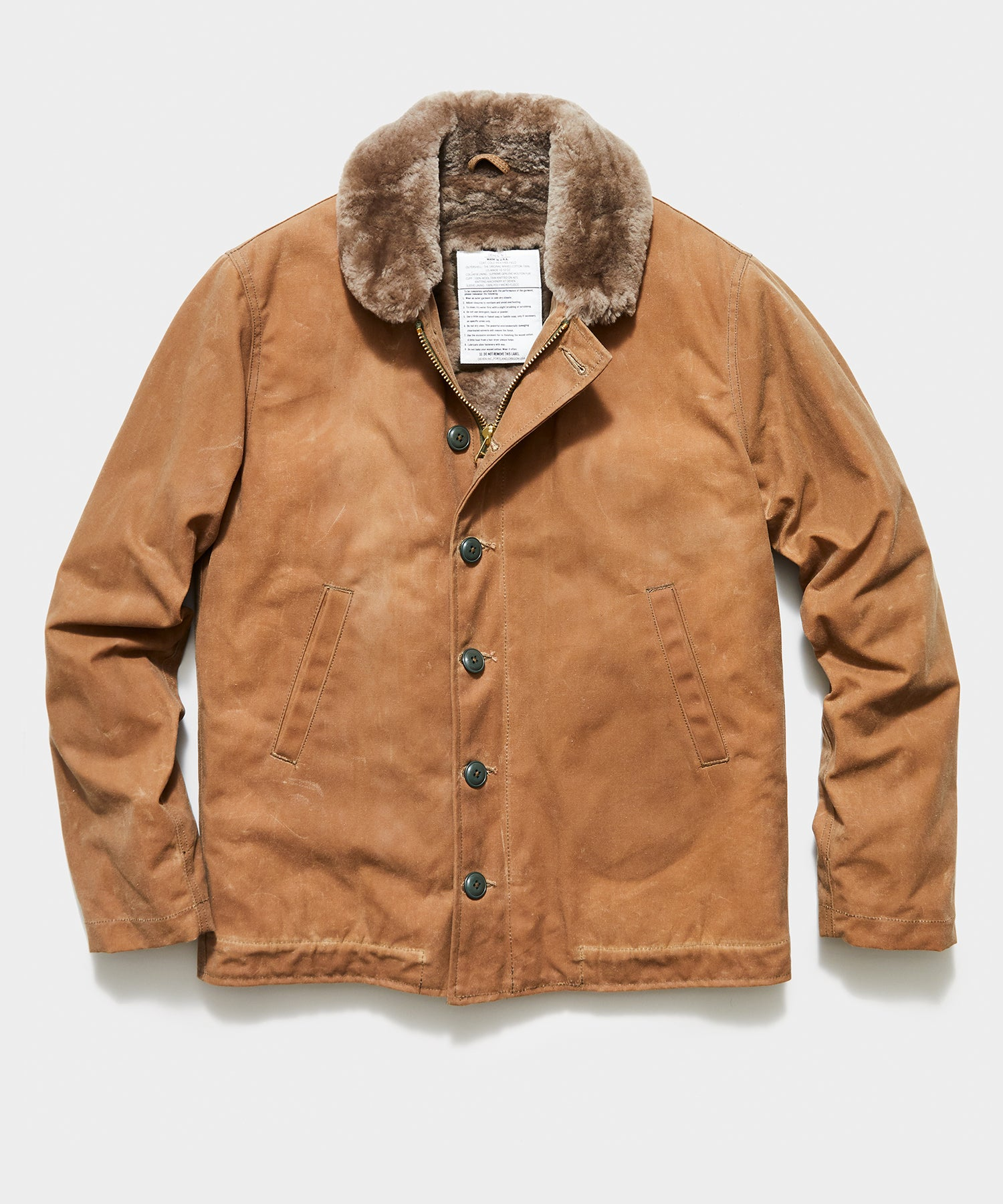 Dehen N-1 Deck Jacket in Tan