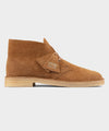 Clarks Desert Boot In Nutmeg Suede