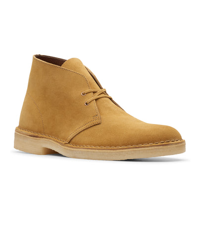 Clarks Desert Boot in Oak Suede