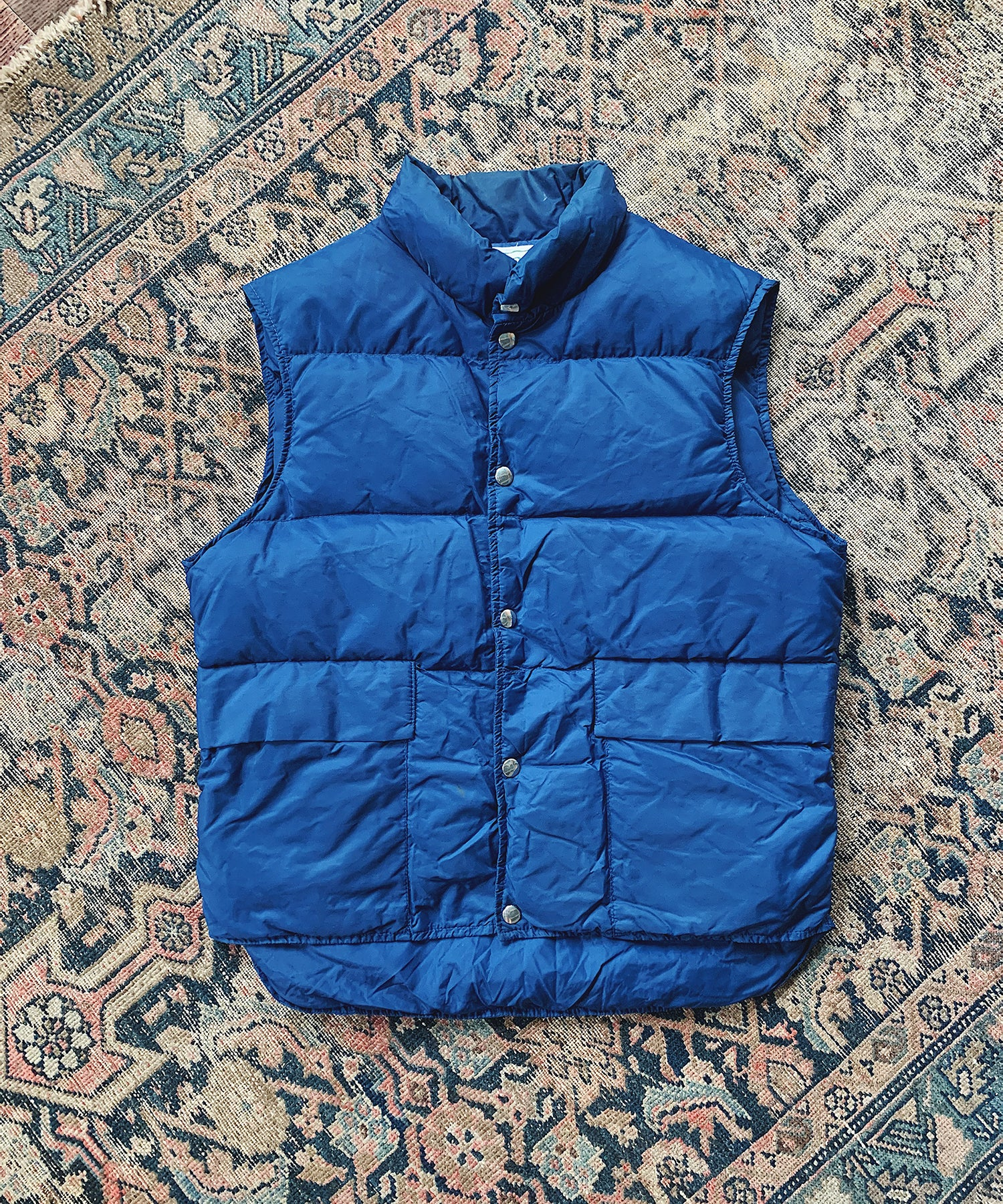 Item #11 -  Todd Snyder x Wooden Sleepers 1970's Down Vest in Navy - SOLD OUT