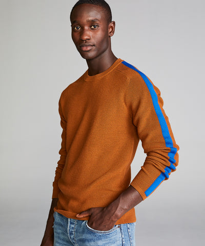 Merino Ski Sweater in Camel