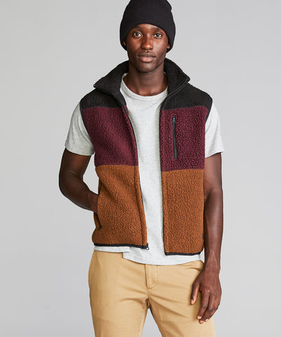 Polartec Color-block Vest