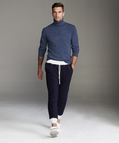 Polartec Sweatpant in Bright Navy