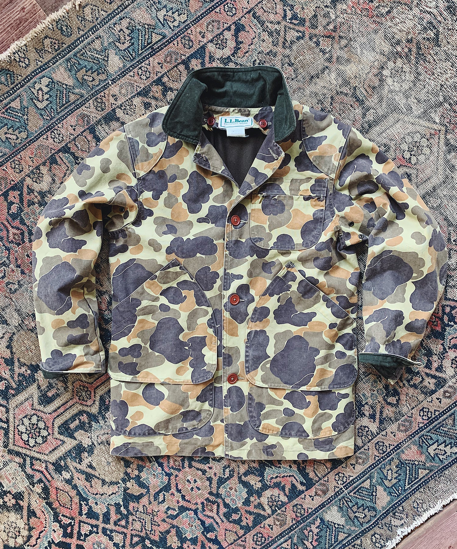 Item #2 - Todd Snyder X Wooden Sleepers 1980's Field Coat in Duck Camo - SOLD OUT