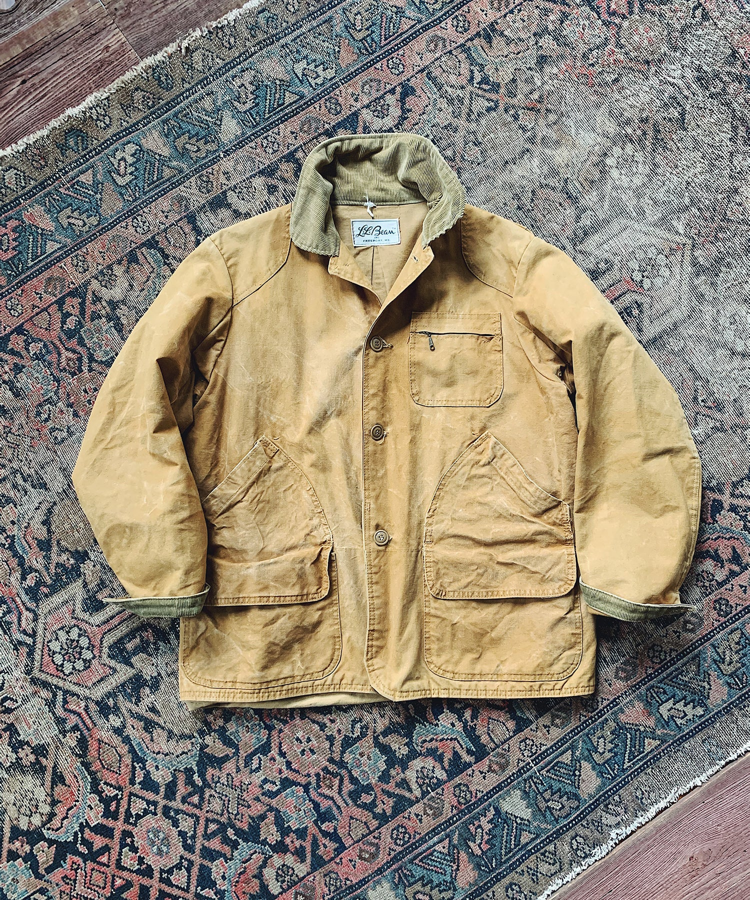 Item #22 - Todd Snyder x Wooden Sleepers 1970's Field Coat in Tan - SOLD OUT