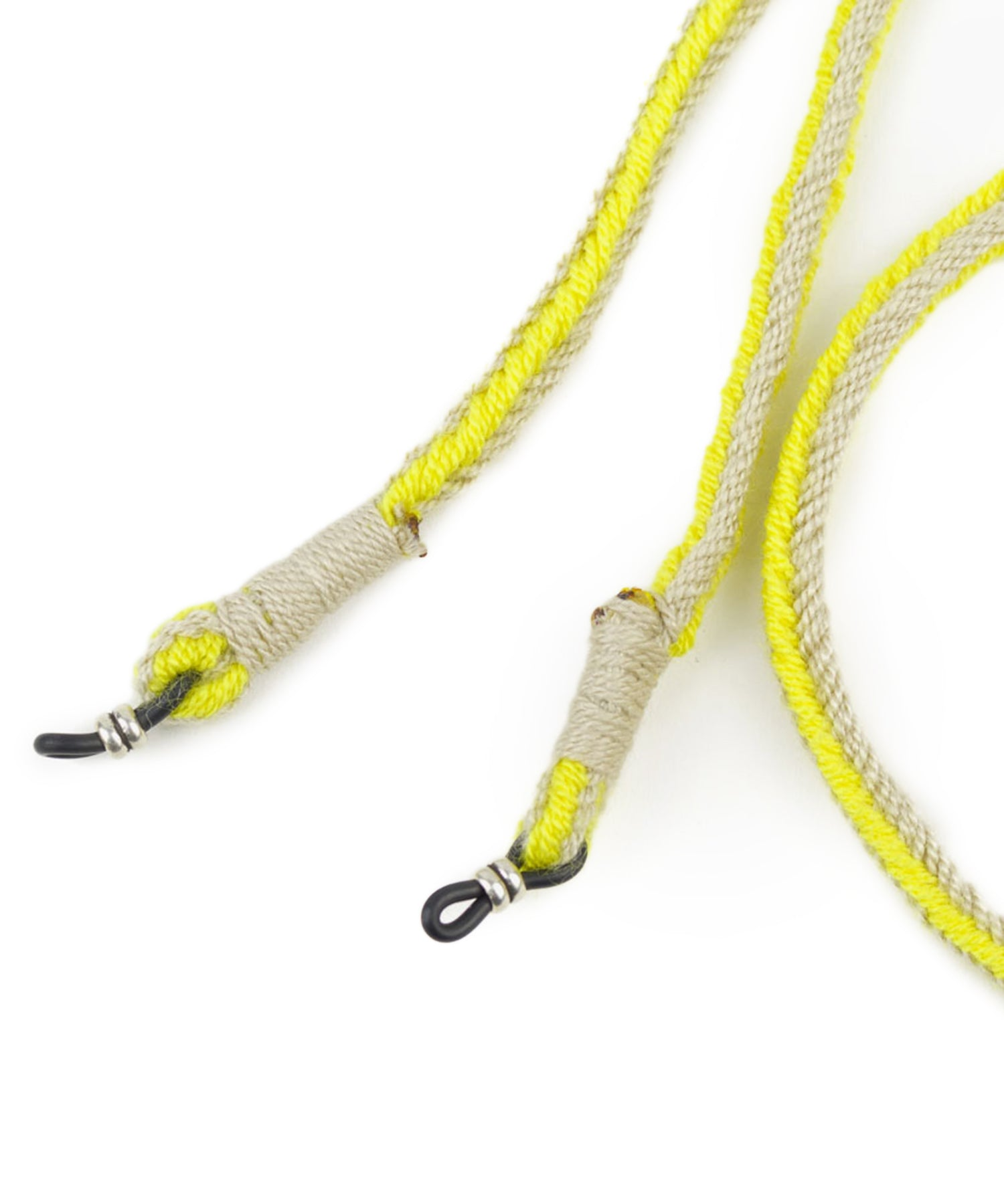 Guanábana Handmade Eyeglass Keeper Cord in Yellow