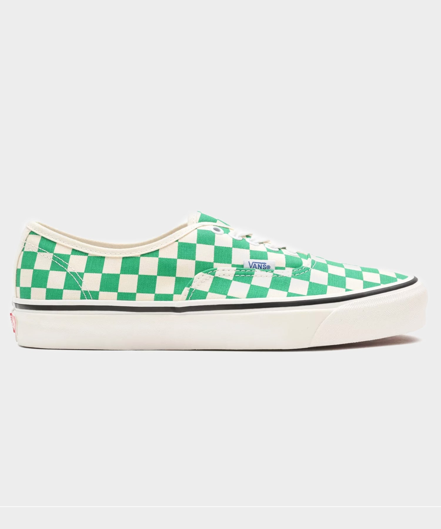 VANS ANAHEIM FACTORY AUTHENTIC 44 DX IN GREEN CHECKERBOARD