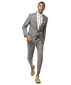 Todd Snyder White Label Sutton Stretch Tropical Wool Suit in Light Charcoal