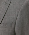 Todd Snyder White Label Sutton Stretch Tropical Wool Suit in Light Charcoal Swatch