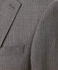 Sutton Stretch Tropical Wool Suit Jacket In Light Charcoal Alternate Image