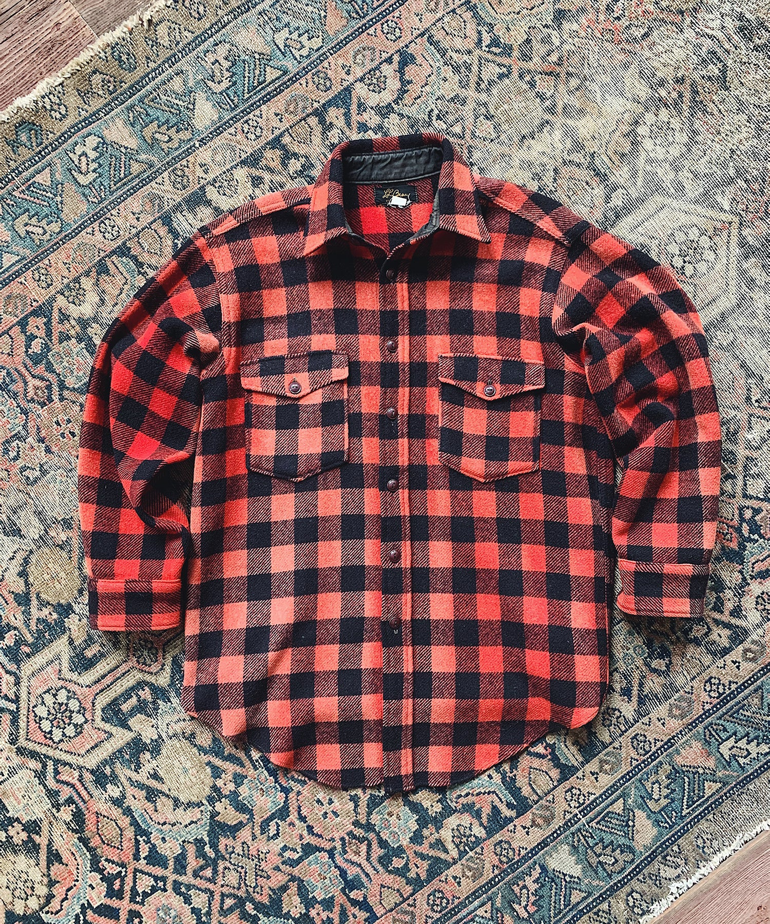 Item #12 -  Todd Snyder x Wooden Sleepers 1950's Maine Guide Shirt in Red & Black Plaid - SOLD OUT
