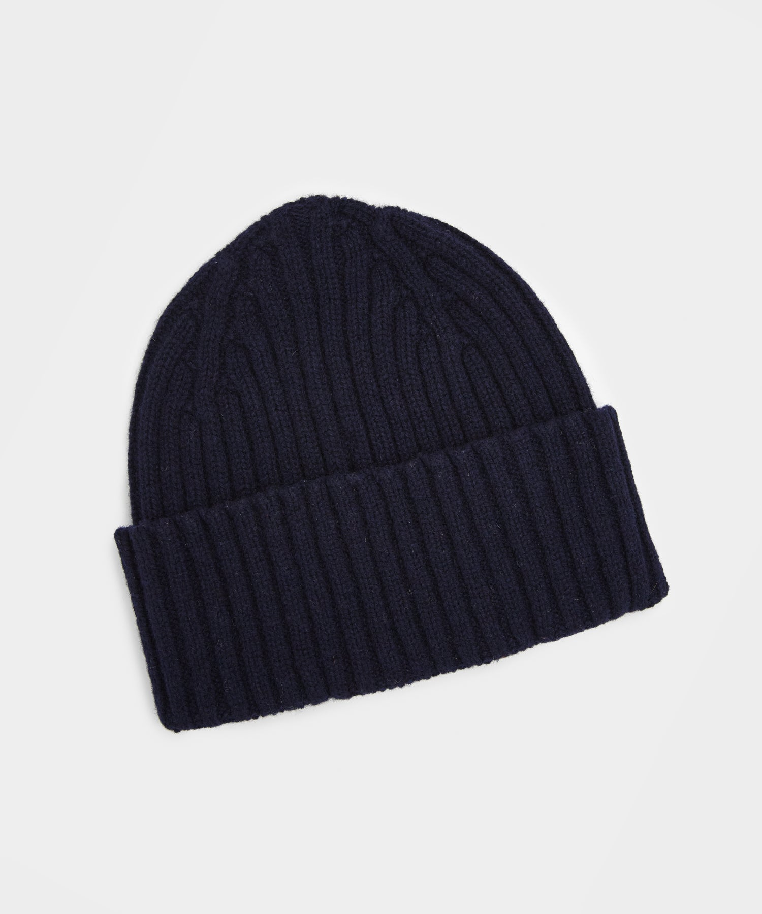 Drake's Classic Lambswool Hat in Navy