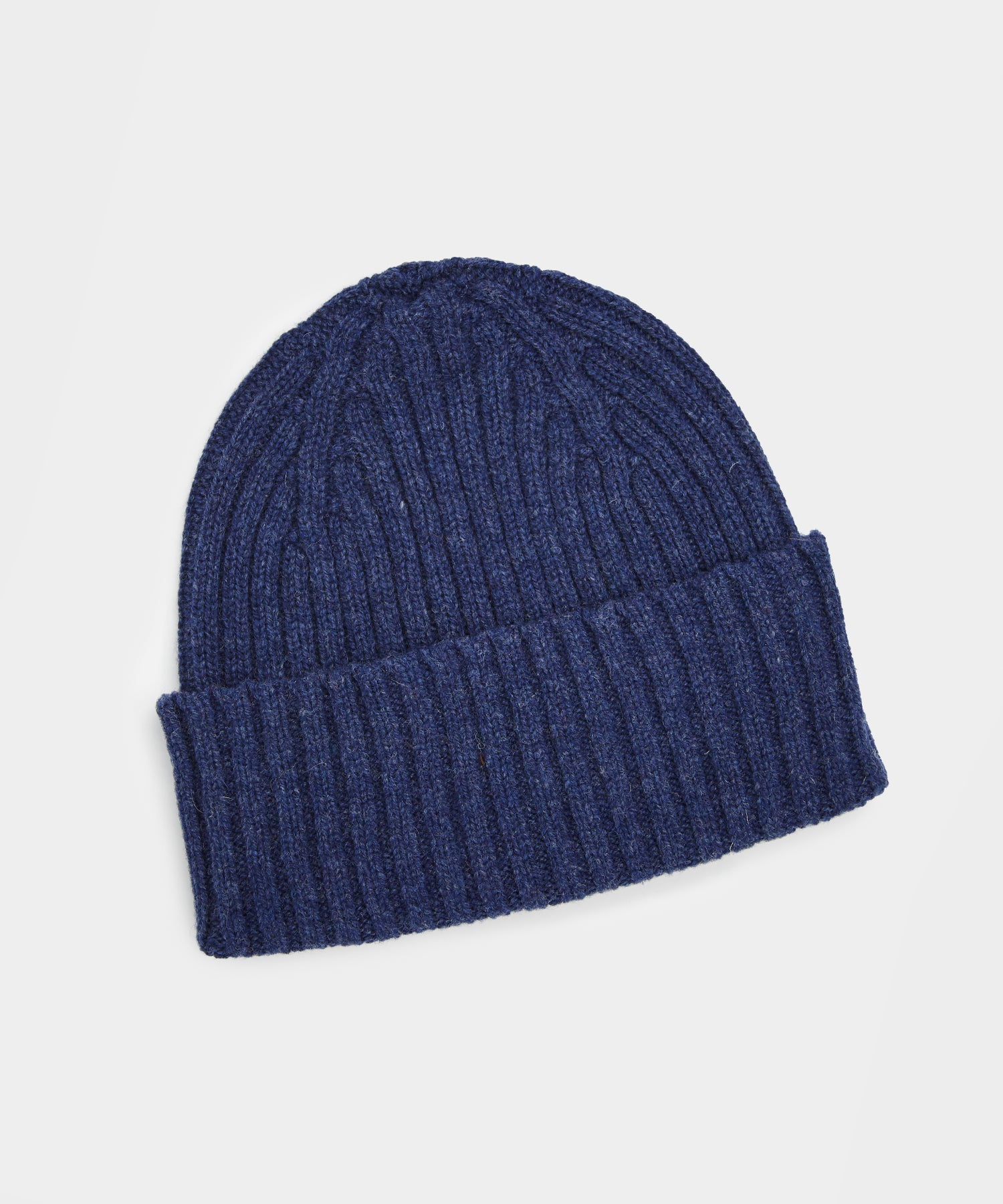 Drake's Classic Lambswool Hat in Blue