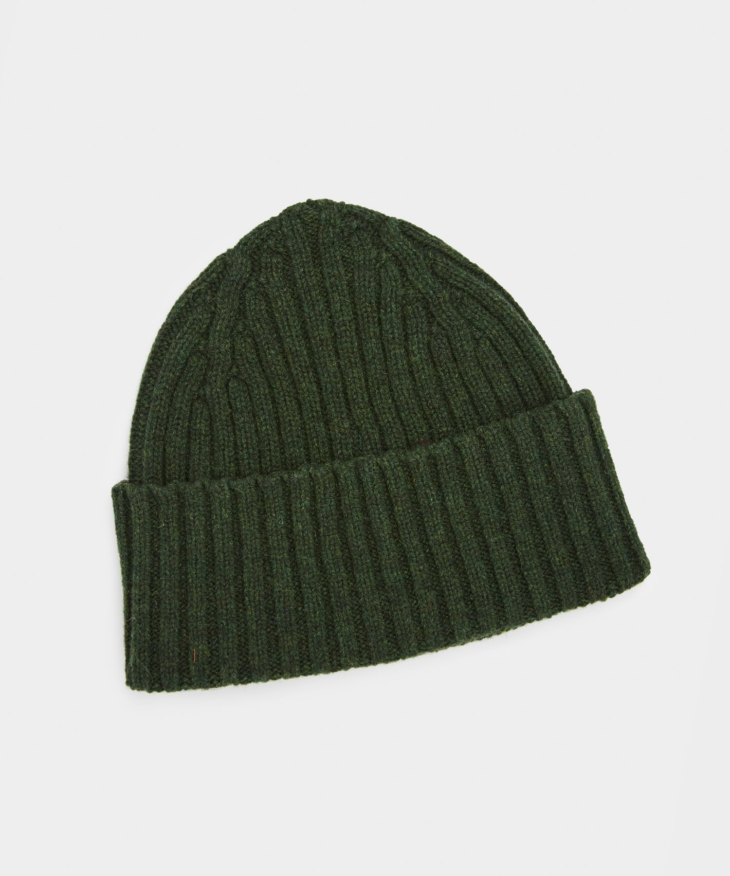 Drake's Classic Lambswool Hat in Green