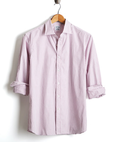Made in USA Hamilton + Todd Snyder Pink Stripe