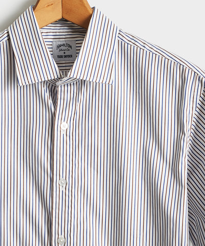 Made in the USA Hamilton + Todd Snyder Pencil Stripe