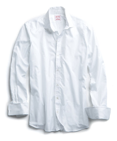 Made in the USA Hamilton Tuxedo Shirt with French Cuff in White