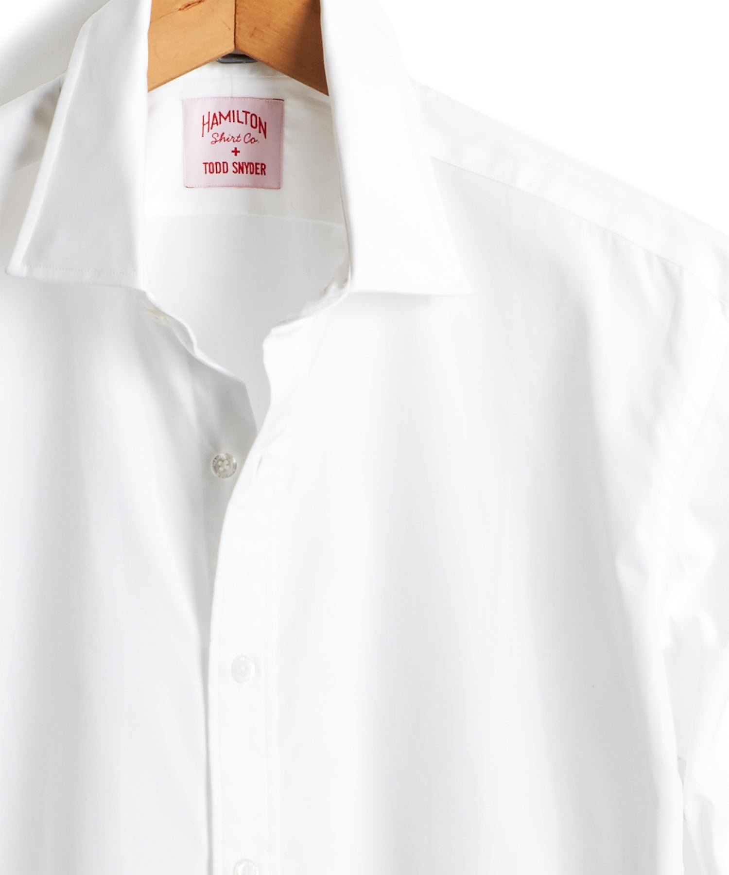 Made in the USA Hamilton + Todd Snyder Dress Shirt in White
