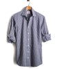 Made in the USA Hamilton + Todd Snyder Dress Shirt in Navy Gingham Alternate Image