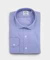 Made in the USA Hamilton + Todd Snyder Blue Micro Stripe Dress Shirt