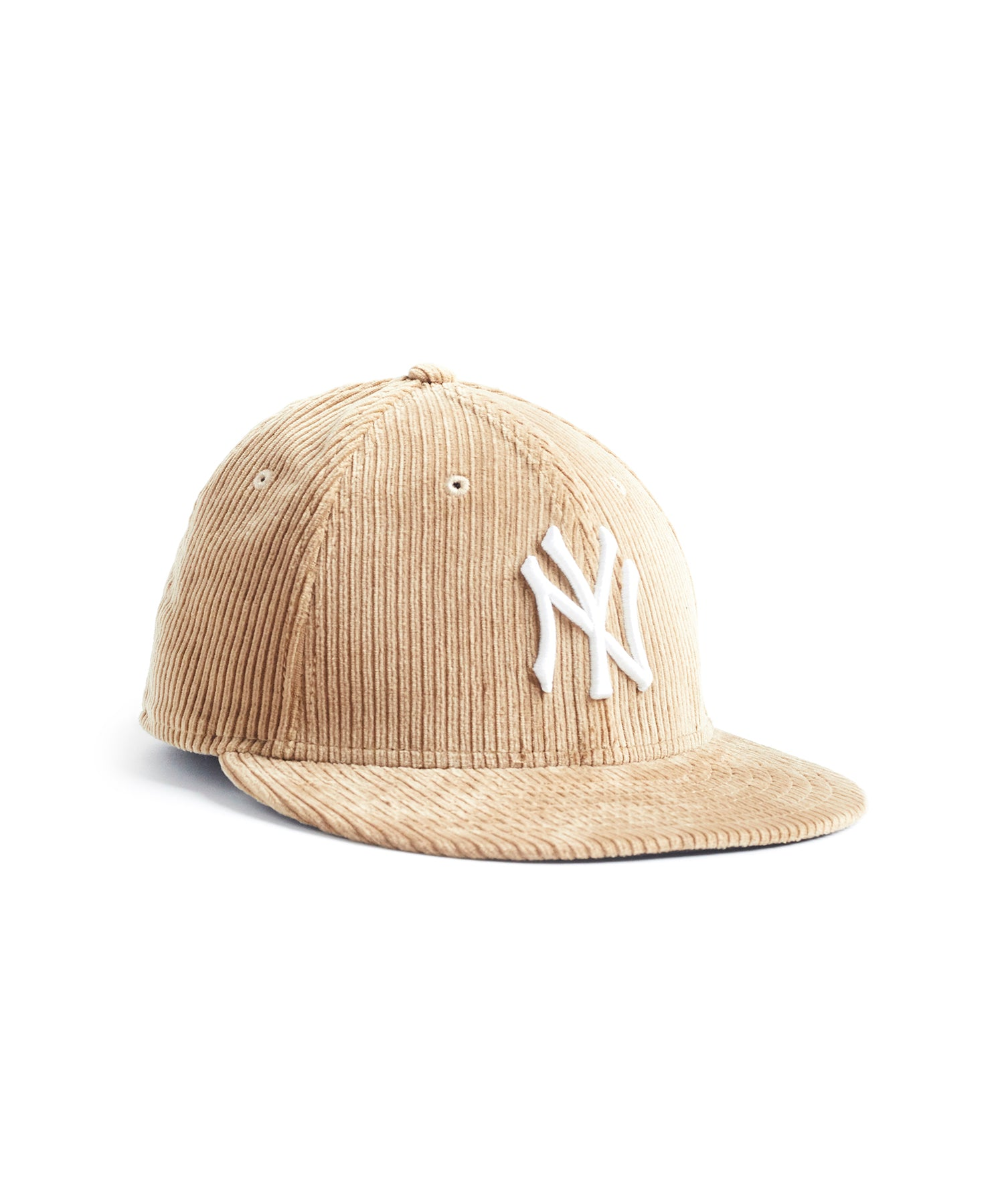 Exclusive Todd Snyder + New Era Corduroy Yankees Cap in Camel