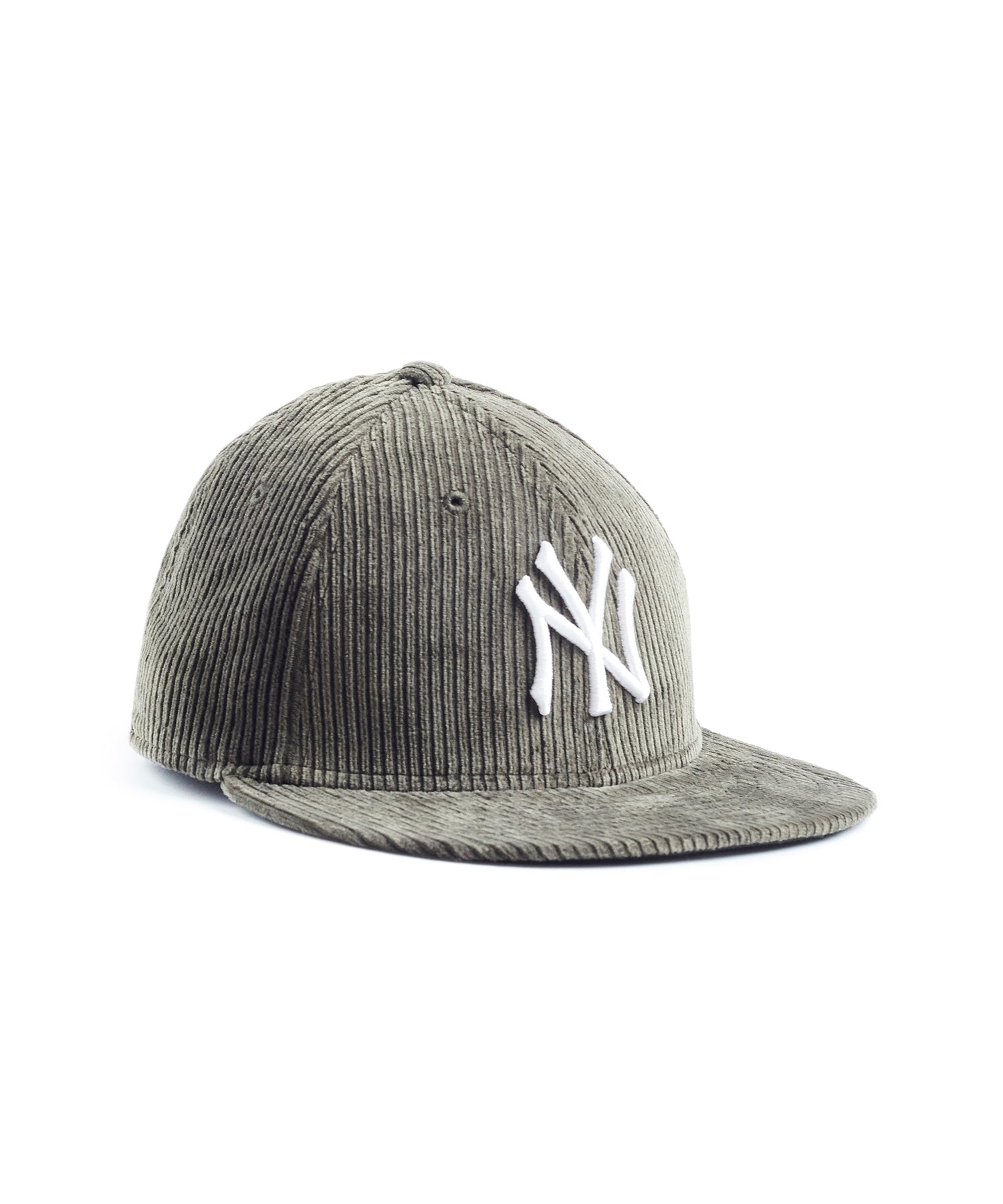 Exclusive Todd Snyder + New Era Corduroy Yankees Cap in Olive