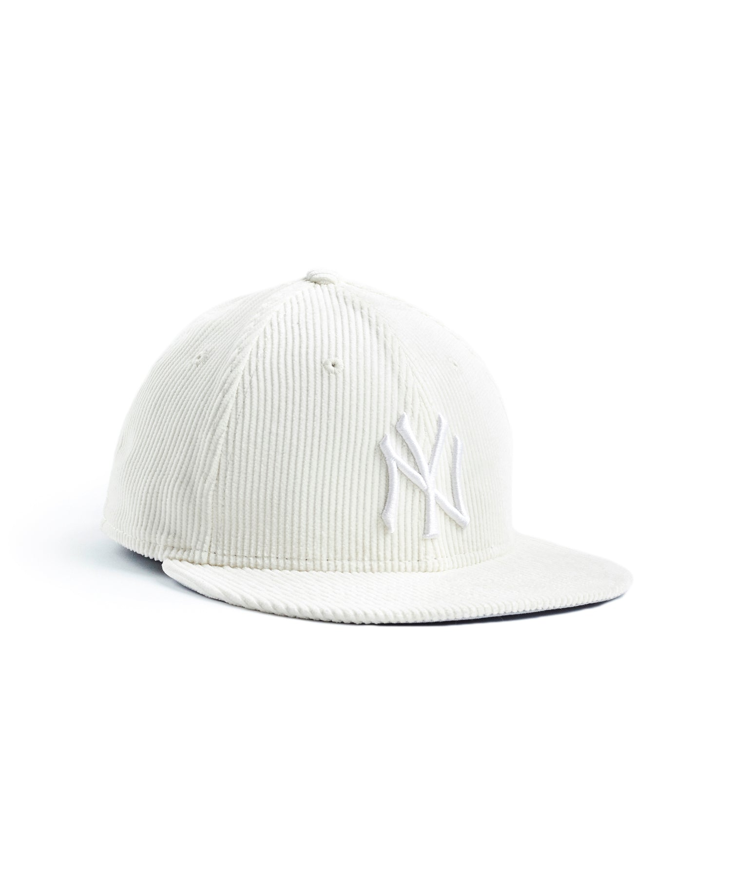 Exclusive Todd Snyder + New Era Corduroy Yankees Cap in White