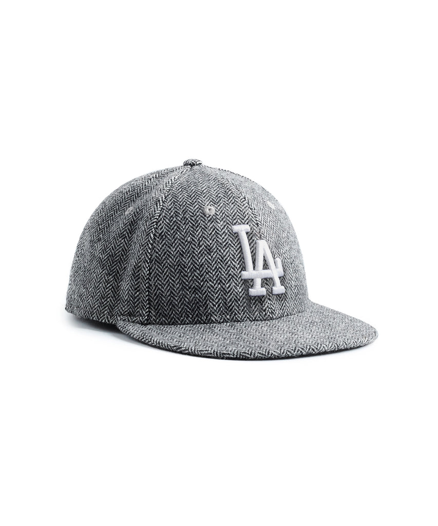 98f92c24 Exclusive New Era LA Dodgers Hat In Abraham Moon Herringbone ...