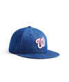 TODD SNYDER + NEW ERA MLB WASHINGTON NATIONALS CAP IN CONE DENIM