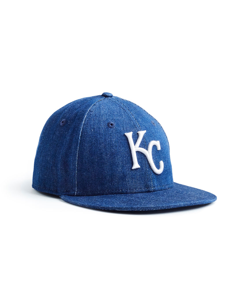 todd snyder + new era mlb kansas city royals cap in cone denim b220d25fa877